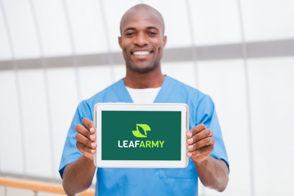 Sample branding #1 for Leafarmy
