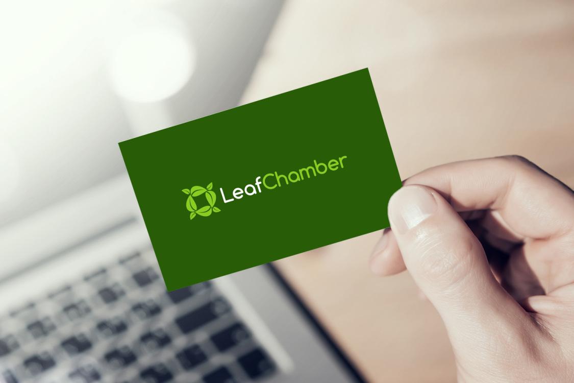 Sample branding #3 for Leafchamber