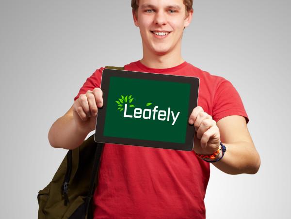Sample branding #3 for Leafely