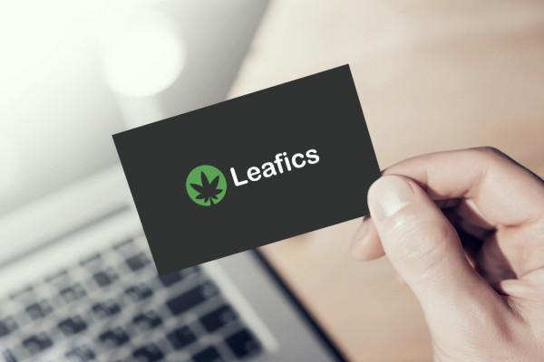 Sample branding #1 for Leafics
