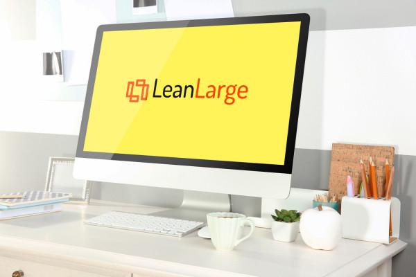 Sample branding #1 for Leanlarge