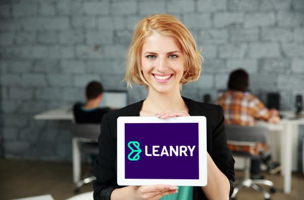 Sample branding #3 for Leanry