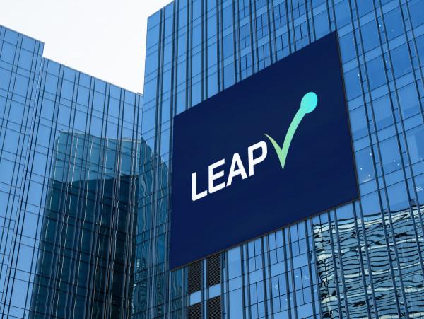 Sample branding #1 for Leapv