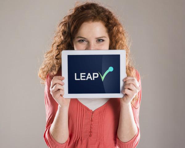 Sample branding #2 for Leapv