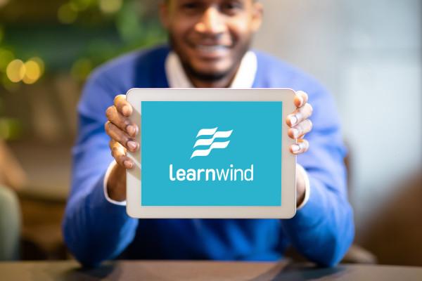 Sample branding #1 for Learnwind