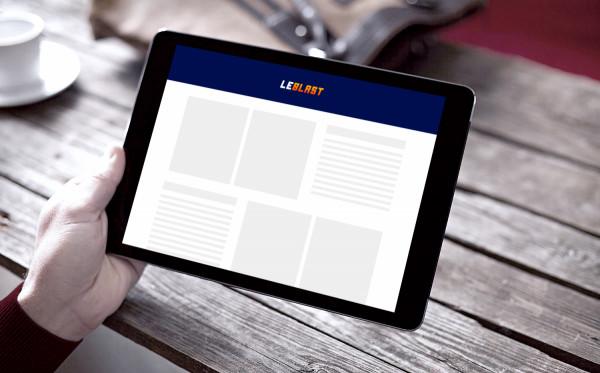 Sample branding #2 for Leblast
