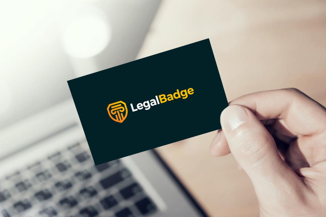 Sample branding #1 for Legalbadge