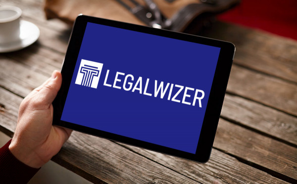 Sample branding #1 for Legalwizer