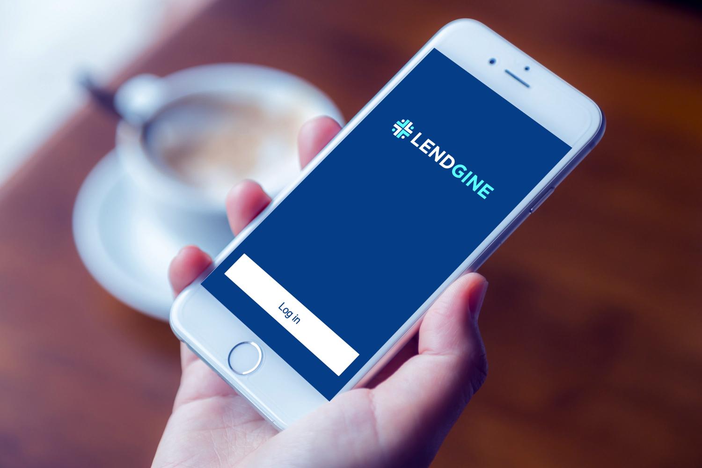 Sample branding #2 for Lendgine
