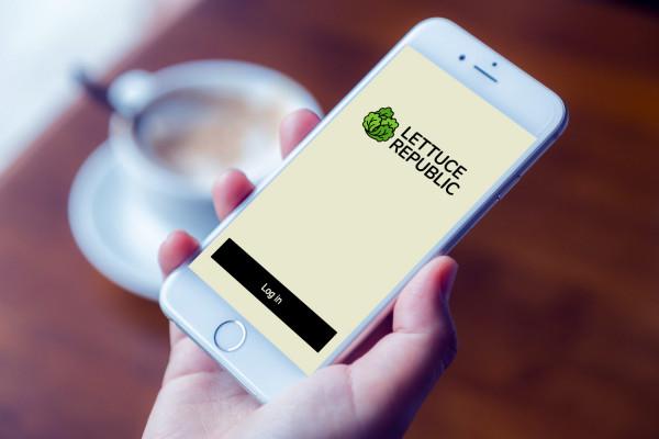 Sample branding #1 for Lettucerepublic