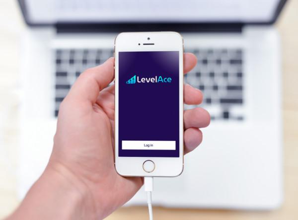 Sample branding #3 for Levelace