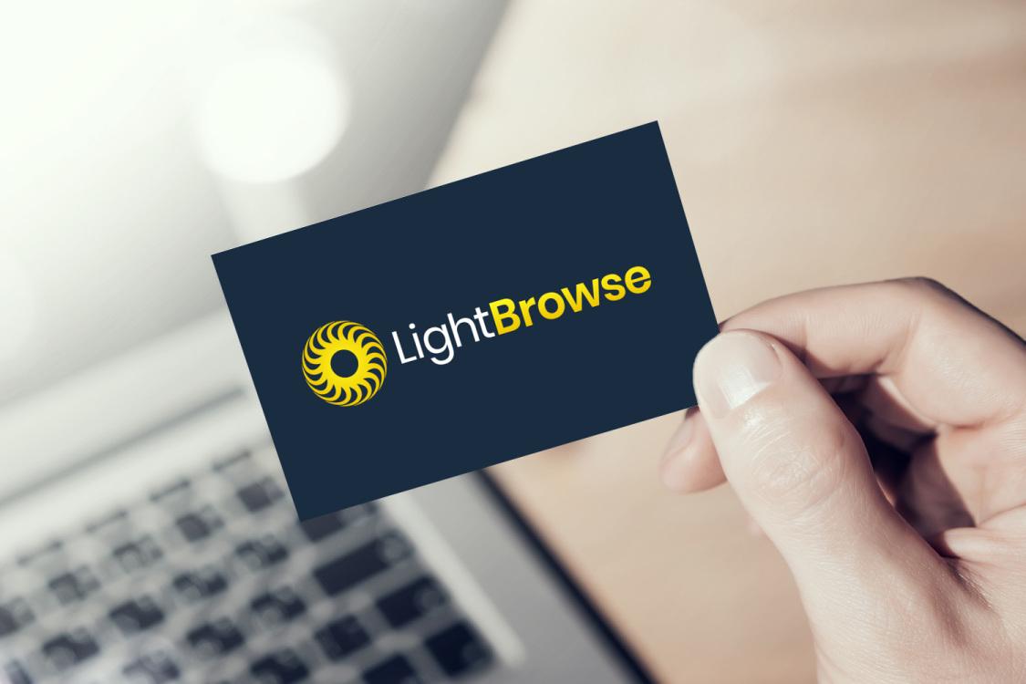 Sample branding #3 for Lightbrowse