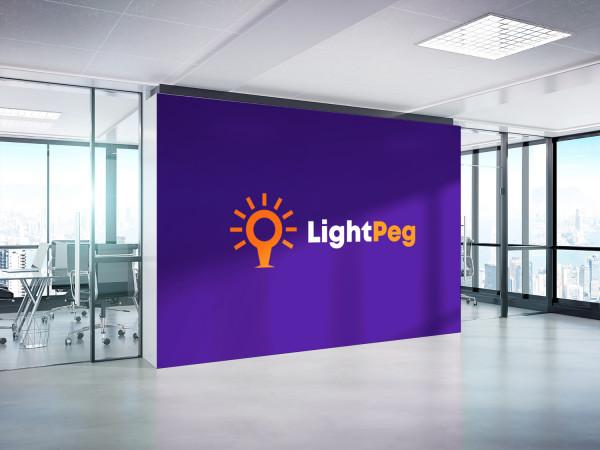 Sample branding #2 for Lightpeg