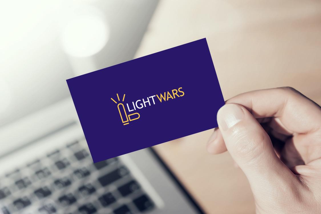 Sample branding #2 for Lightwars