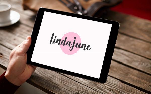Sample branding #3 for Lindajune