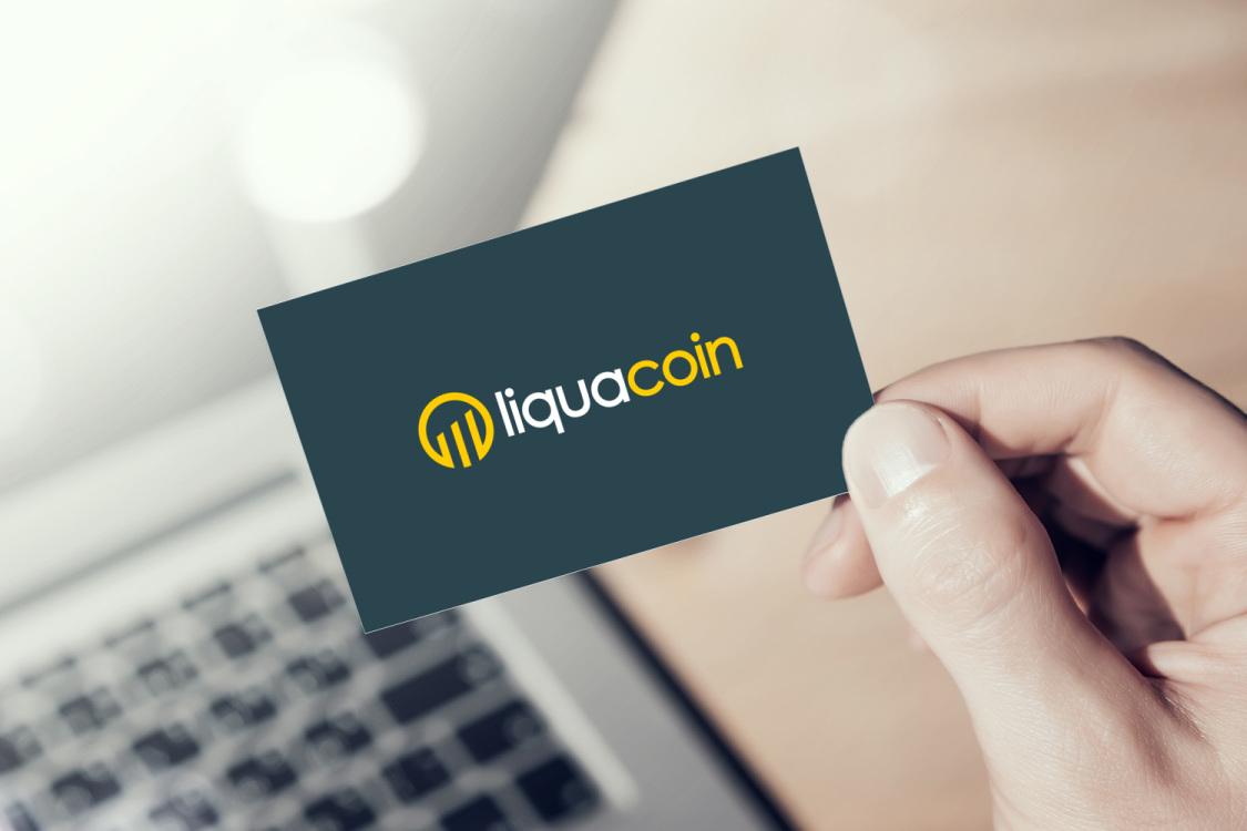 Sample branding #1 for Liquacoin