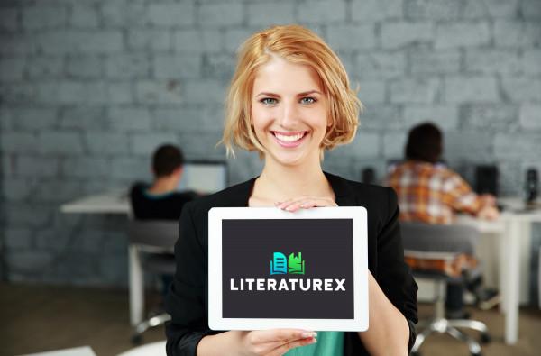 Sample branding #2 for Literaturex