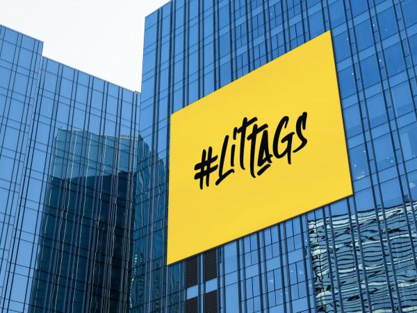 Sample branding #1 for Littags