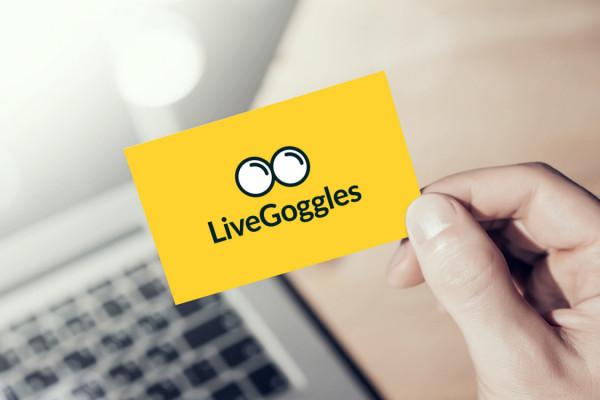 Sample branding #2 for Livegoggles