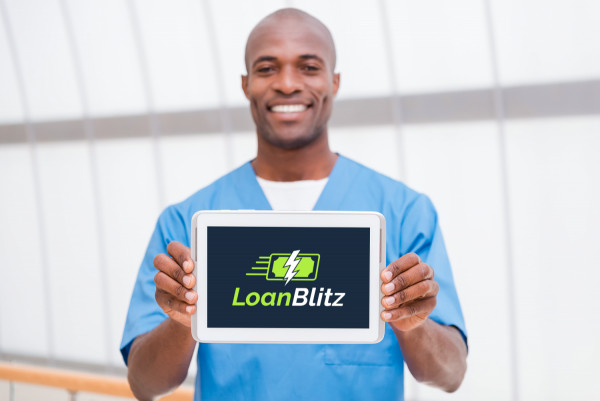Sample branding #1 for Loanblitz