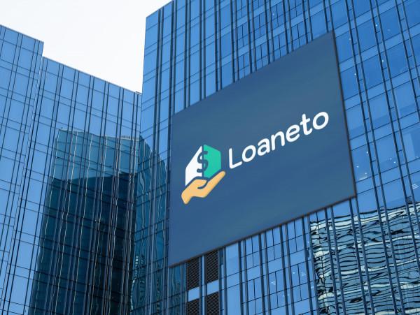 Sample branding #1 for Loaneto