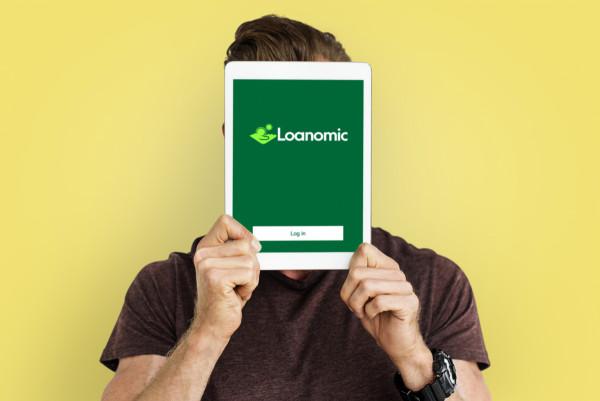 Sample branding #2 for Loanomic