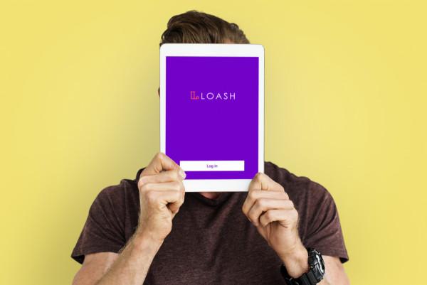 Sample branding #2 for Loash