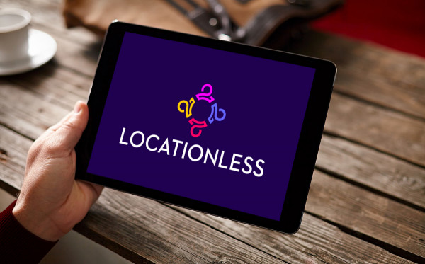 Sample branding #1 for Locationless