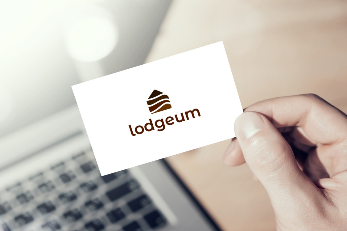 Sample branding #1 for Lodgeum