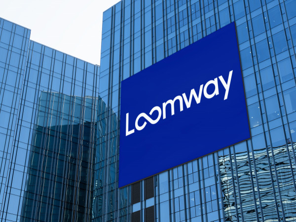 Sample branding #1 for Loomway
