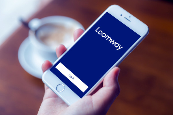 Sample branding #3 for Loomway