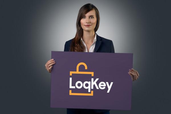 Sample branding #2 for Loqkey