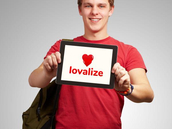 Sample branding #2 for Lovalize