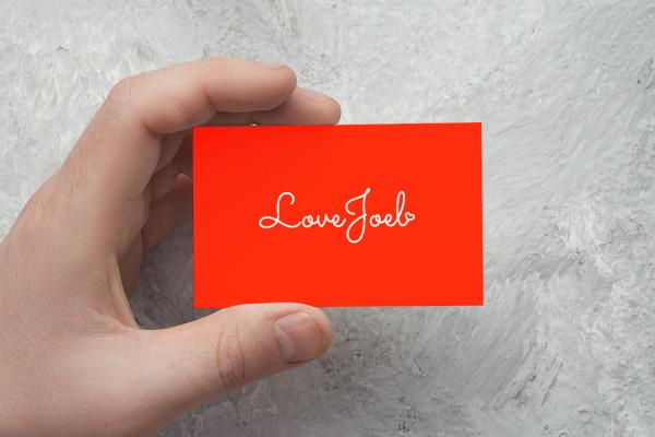 Sample branding #2 for Lovejoel