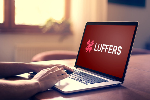 Sample branding #3 for Luffers