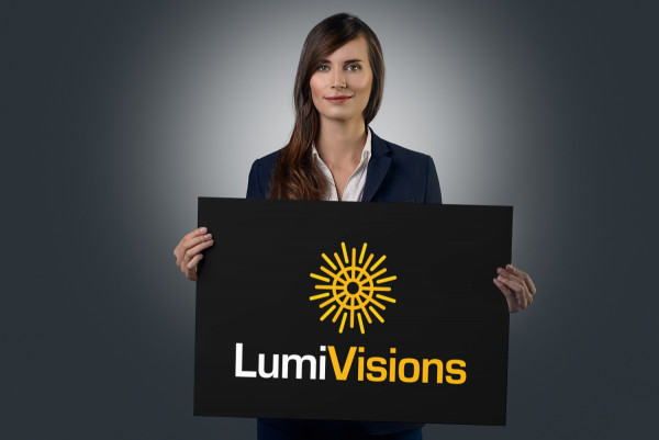 Sample branding #1 for Lumivisions