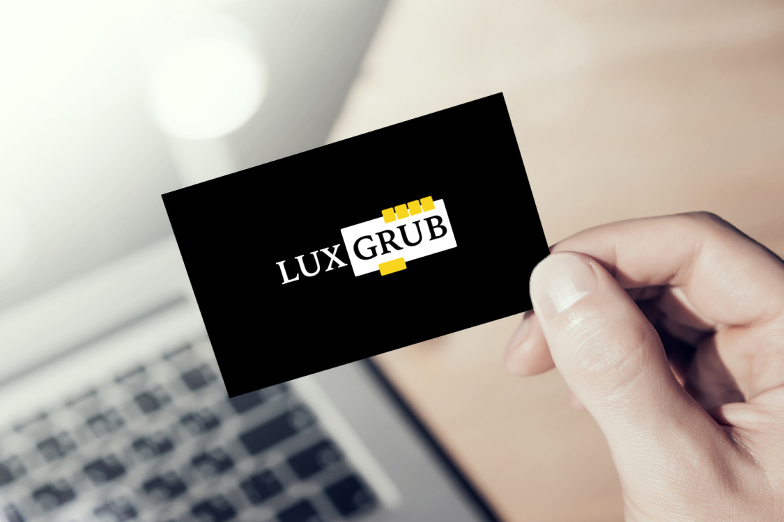 Sample branding #2 for Luxgrub