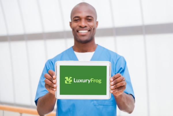 Sample branding #2 for Luxuryfrog