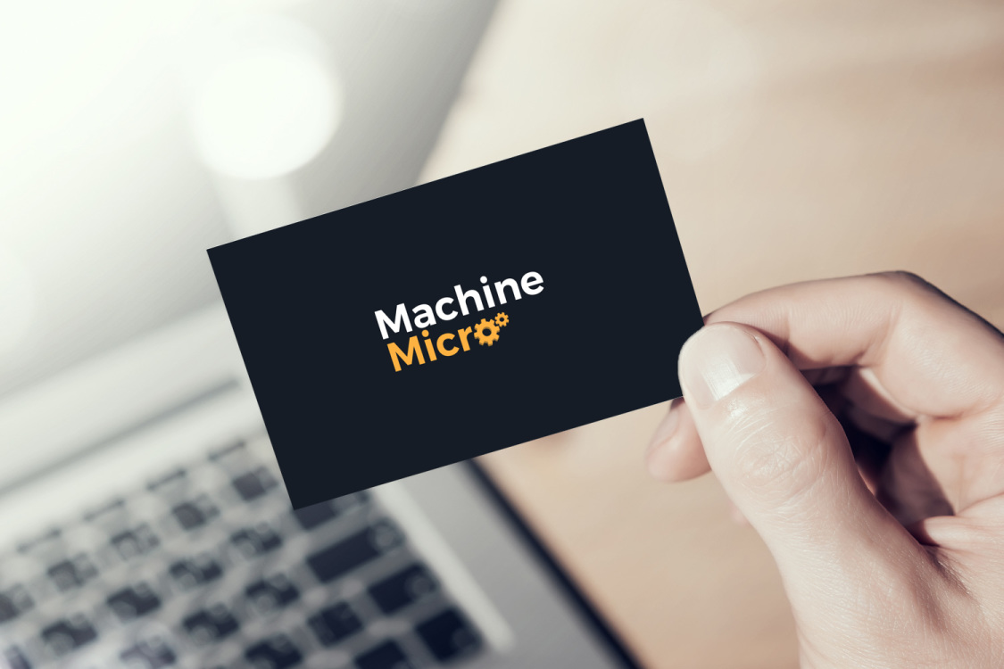 Sample branding #3 for Machinemicro