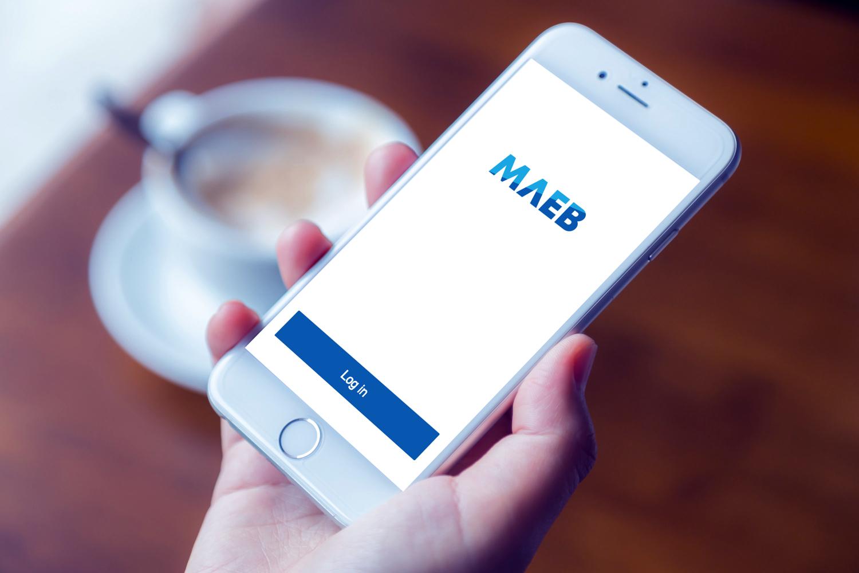 Sample branding #2 for Maeb