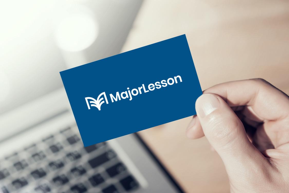 Sample branding #3 for Majorlesson