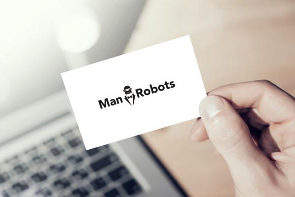 Sample branding #1 for Manrobots