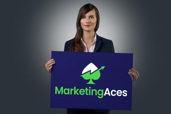 Sample branding #1 for Marketingaces