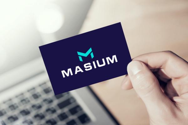 Sample branding #1 for Masium