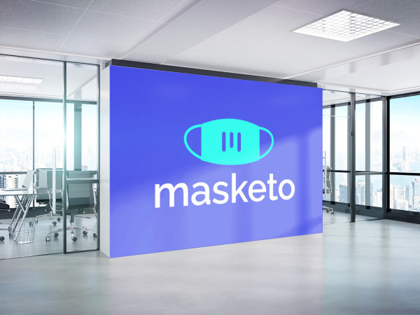 Sample branding #3 for Masketo