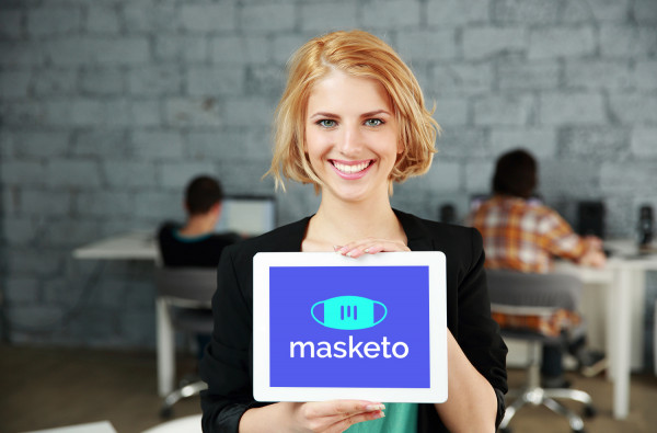 Sample branding #1 for Masketo