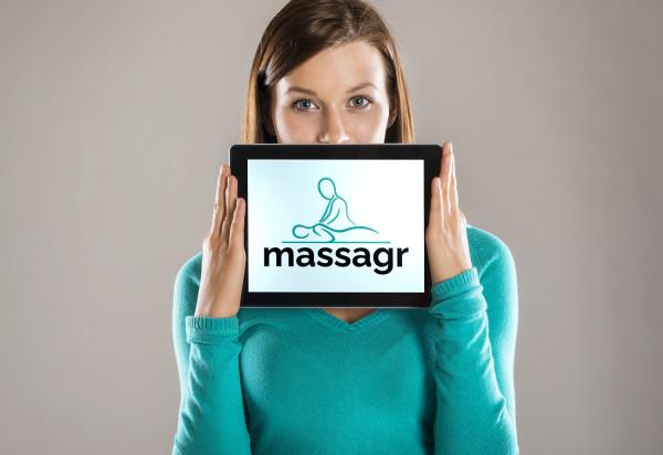Sample branding #3 for Massagr