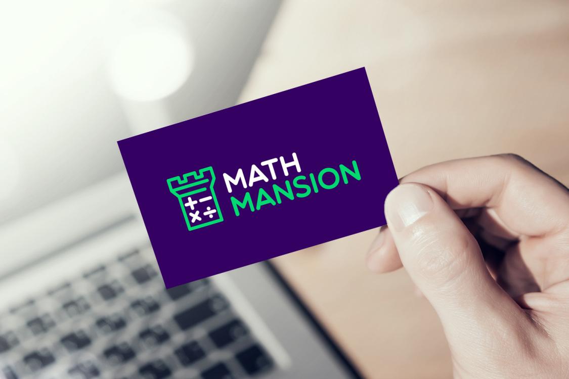 Sample branding #3 for Mathmansion