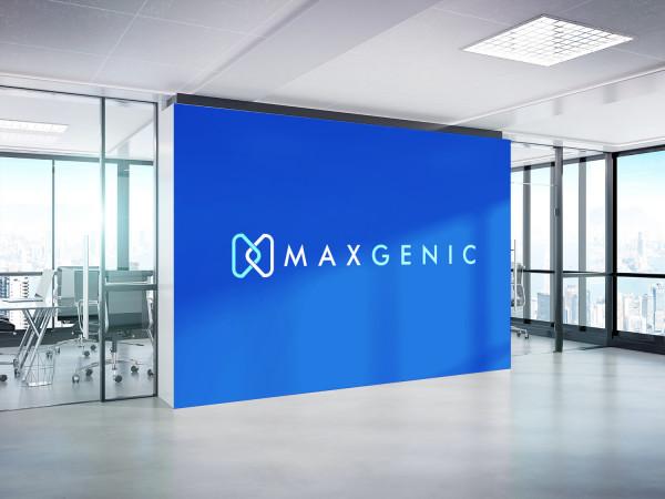 Sample branding #2 for Maxgenic