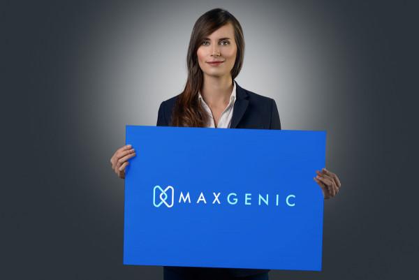 Sample branding #1 for Maxgenic